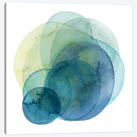 Evolving Planets IV Canvas Print #POP643} by Grace Popp Canvas Artwork
