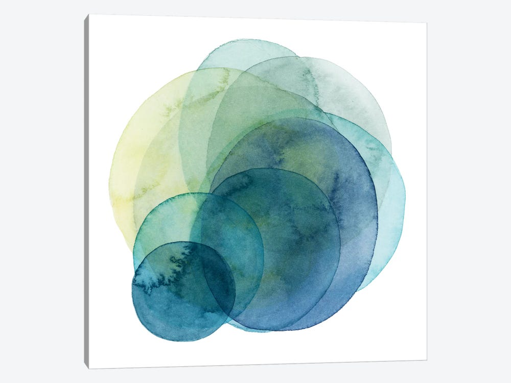 Evolving Planets IV by Grace Popp 1-piece Canvas Art Print