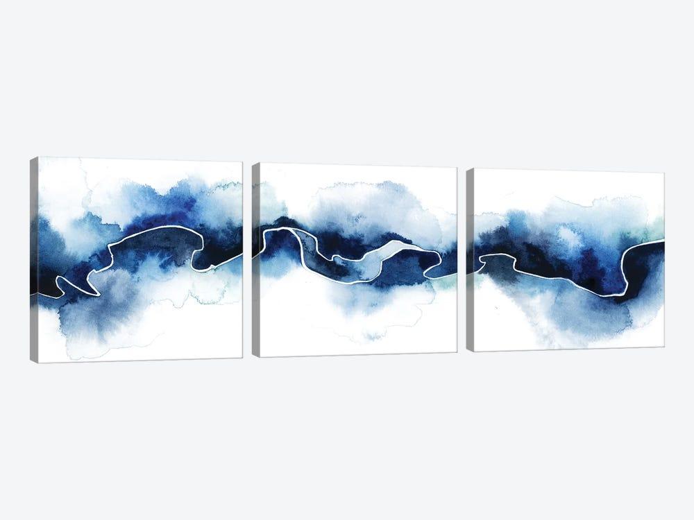 Glacial Break II by Grace Popp 3-piece Canvas Art