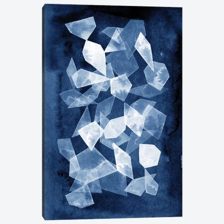 Indigo Glass II Canvas Print #POP656} by Grace Popp Canvas Artwork
