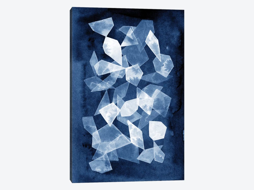 Indigo Glass II by Grace Popp 1-piece Canvas Print
