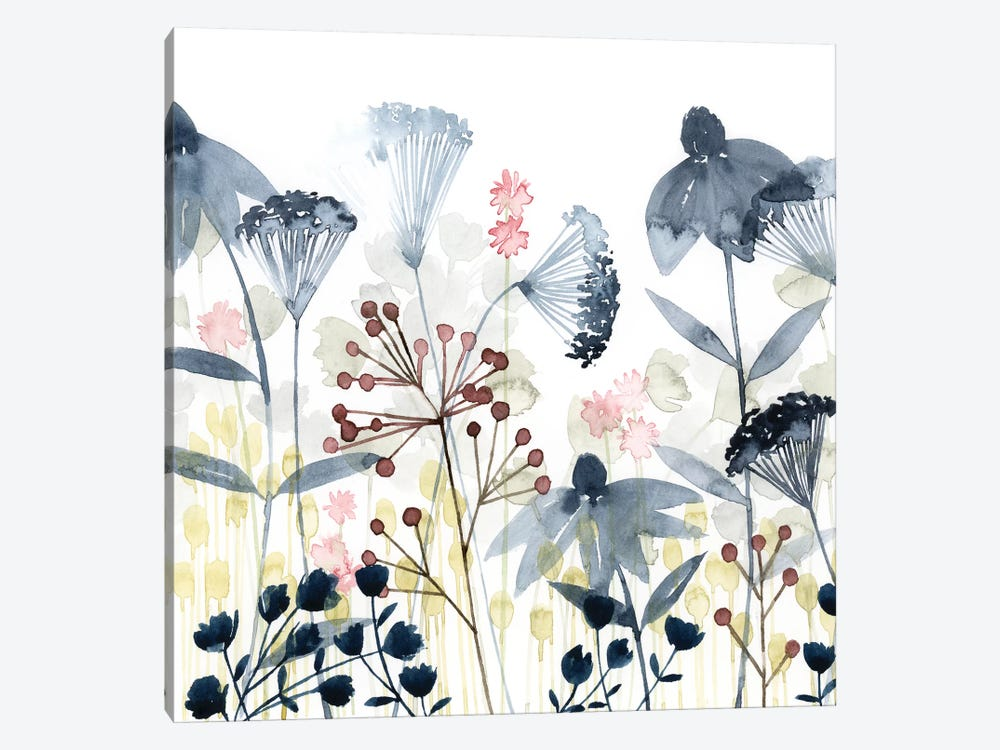 Layered Gardens I by Grace Popp 1-piece Canvas Wall Art