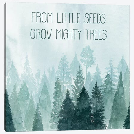 Little Grower I Canvas Print #POP663} by Grace Popp Canvas Artwork