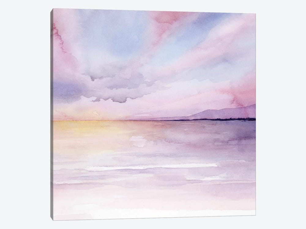 Pale Sunset II 1-piece Art Print