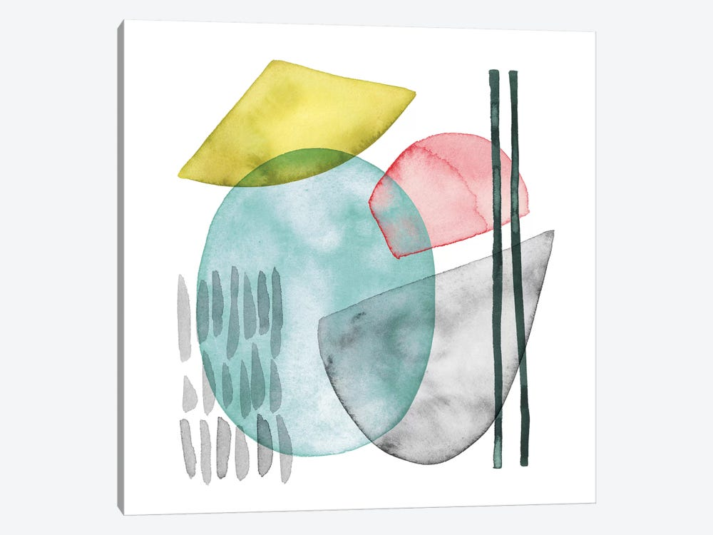 Pastel Formation I by Grace Popp 1-piece Canvas Art