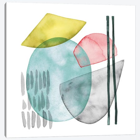 Pastel Formation I Canvas Print #POP671} by Grace Popp Canvas Print