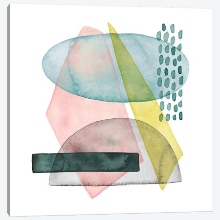 Pastel Formation II Canvas Print #POP672} by Grace Popp Art Print