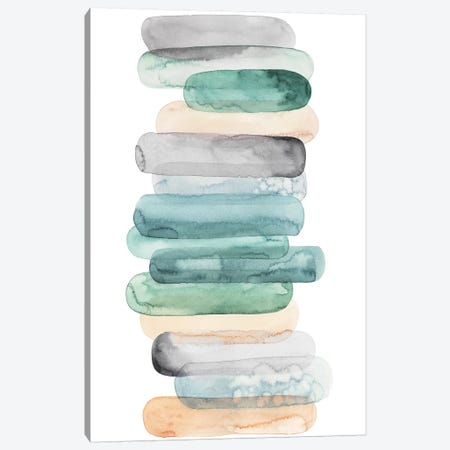 Pastel Matchsticks I Canvas Print #POP673} by Grace Popp Canvas Art Print