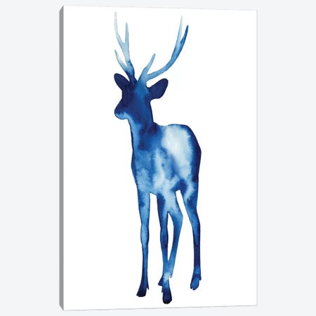 Ink Drop Rusa Deer II Canvas Print #POP67} by Grace Popp Canvas Artwork
