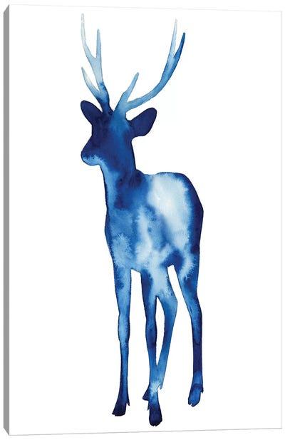 Ink Drop Rusa Deer II Canvas Art Print