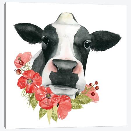 Poppy Farm I Canvas Print #POP681} by Grace Popp Canvas Art