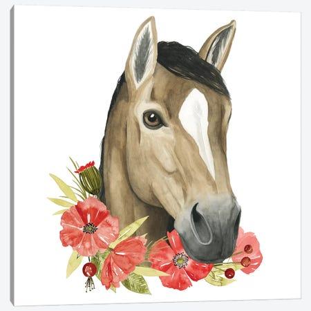 Poppy Farm II Canvas Print #POP682} by Grace Popp Canvas Wall Art