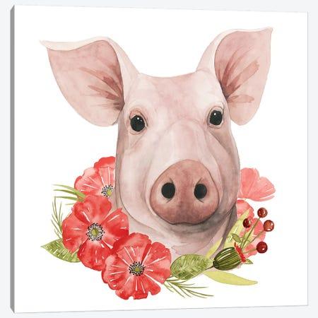 Poppy Farm IV Canvas Print #POP684} by Grace Popp Canvas Art Print