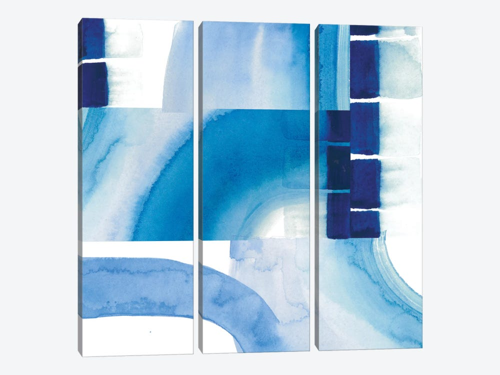 Inlet Falls I by Grace Popp 3-piece Canvas Art