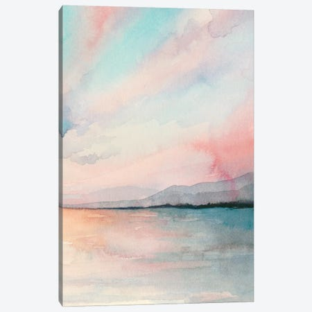 Sea Sunset Triptych III Canvas Print #POP696} by Grace Popp Canvas Artwork