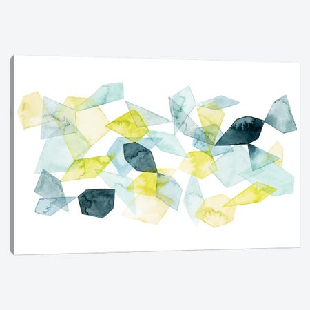 Seaglass Abstract I Canvas Print #POP697} by Grace Popp Canvas Art