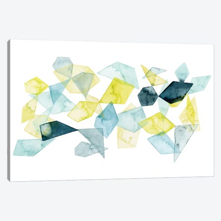 Seaglass Abstract II Canvas Print #POP698} by Grace Popp Art Print