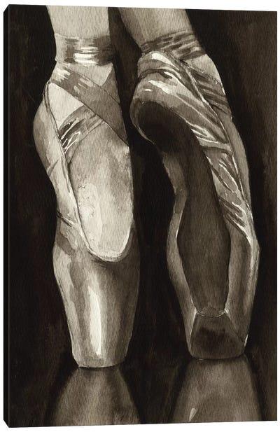 Ballet Shoes I Canvas Art Print