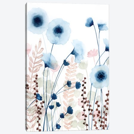 Sweet Flower Field II Canvas Print #POP705} by Grace Popp Canvas Wall Art