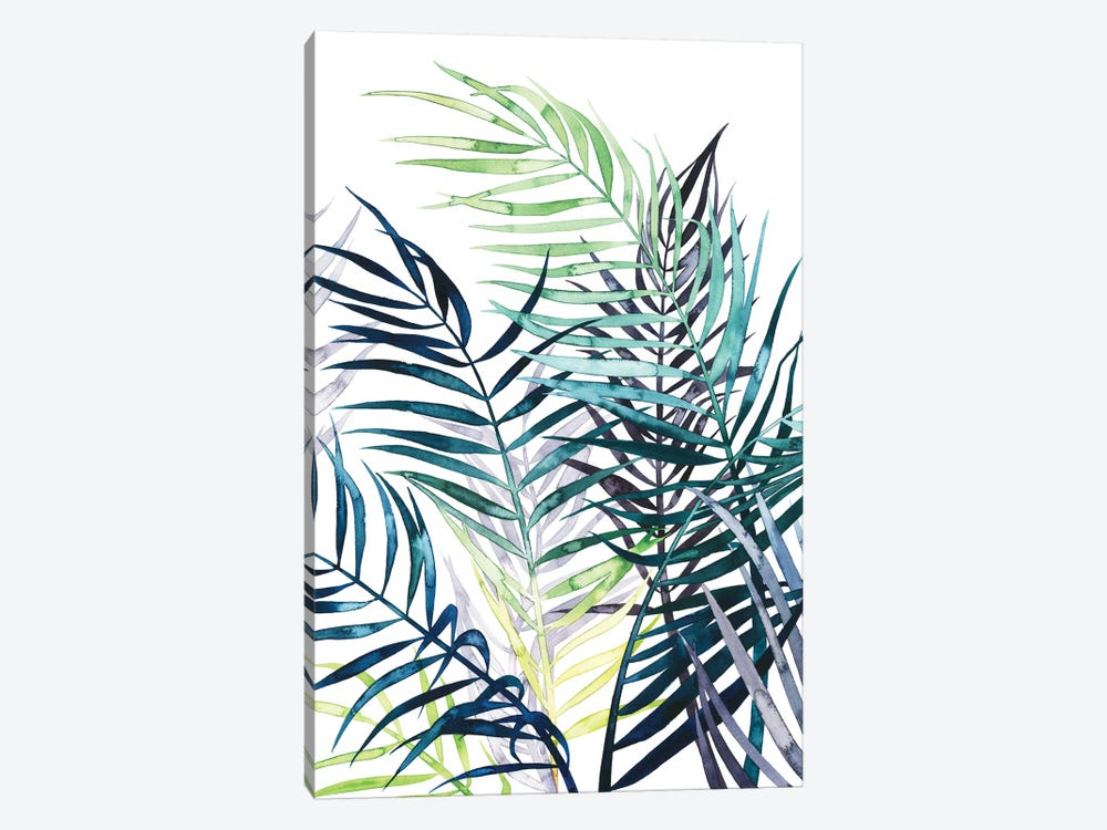 Twilight Palms I 1-piece Canvas Art