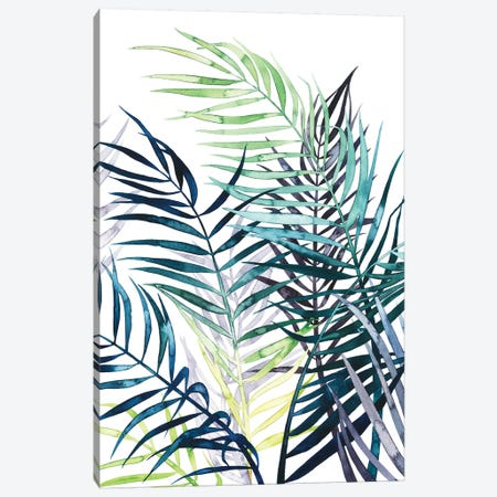 Twilight Palms I 3-Piece Canvas #POP714} by Grace Popp Art Print
