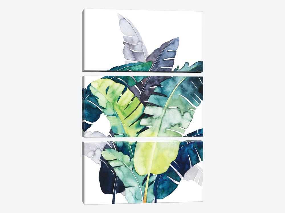 Twilight Palms II by Grace Popp 3-piece Canvas Art Print