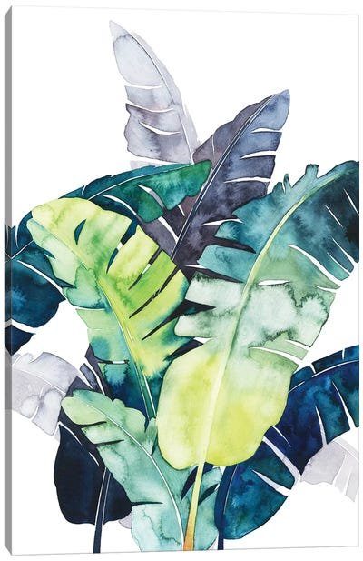 Twilight Palms II Canvas Art Print