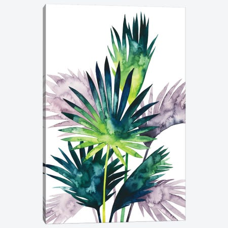 Twilight Palms III 3-Piece Canvas #POP716} by Grace Popp Art Print