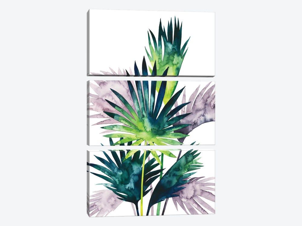 Twilight Palms III by Grace Popp 3-piece Canvas Artwork