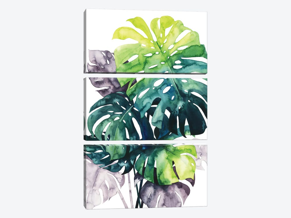 Twilight Palms IV by Grace Popp 3-piece Canvas Art Print