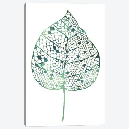 Veiled Leaf II Canvas Print #POP719} by Grace Popp Canvas Art