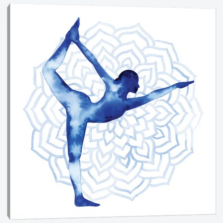 Yoga Flow I Canvas Print #POP722} by Grace Popp Art Print