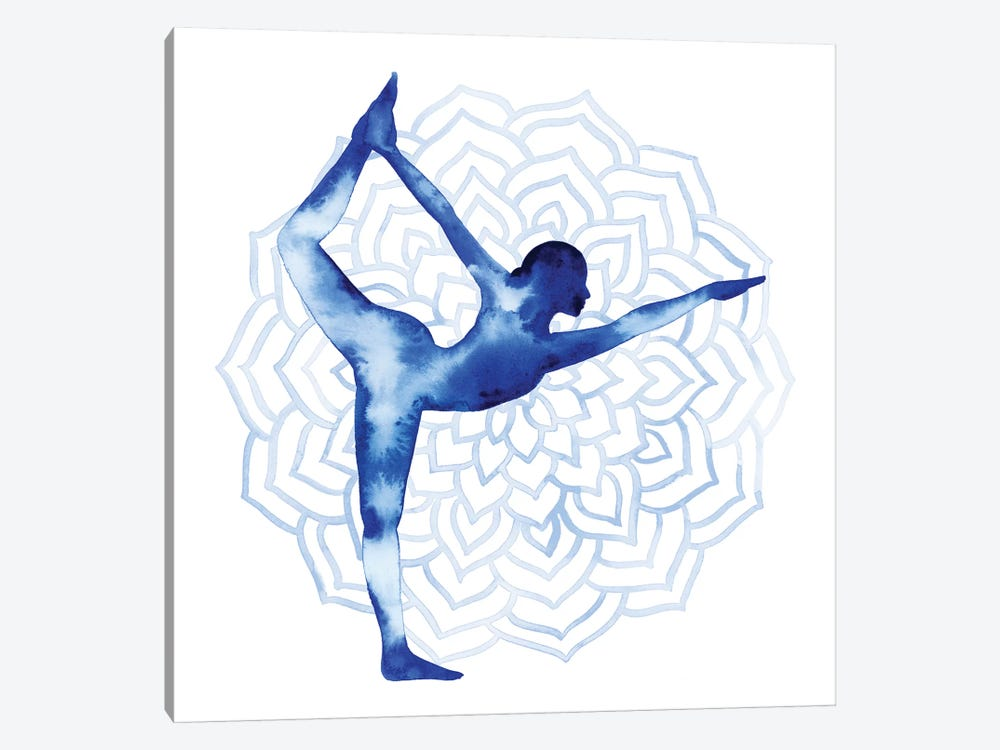Yoga Flow I by Grace Popp 1-piece Canvas Print