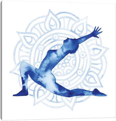 Yoga Flow II Canvas Art Print