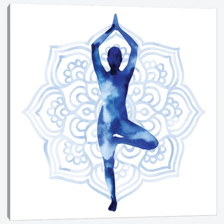 Yoga Flow III Canvas Print #POP724} by Grace Popp Canvas Artwork