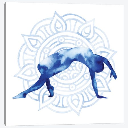 Yoga Flow V Canvas Print #POP726} by Grace Popp Canvas Art
