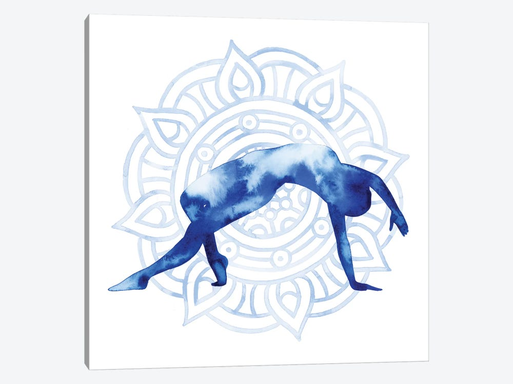 Yoga Flow V 1-piece Canvas Print