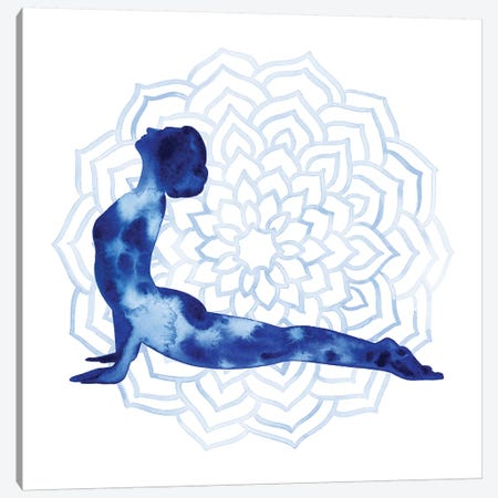 Yoga Flow VI Canvas Print #POP727} by Grace Popp Canvas Wall Art