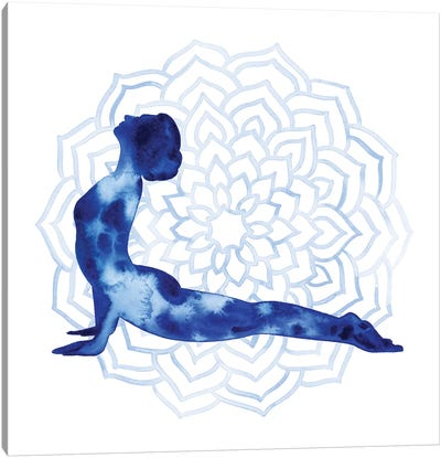 Yoga Flow VI Canvas Art Print
