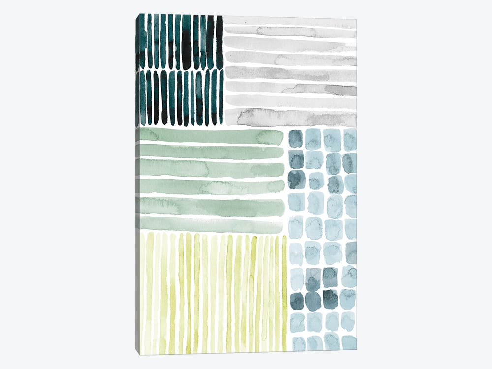 Aerial Abstract I by Grace Popp 1-piece Canvas Art Print