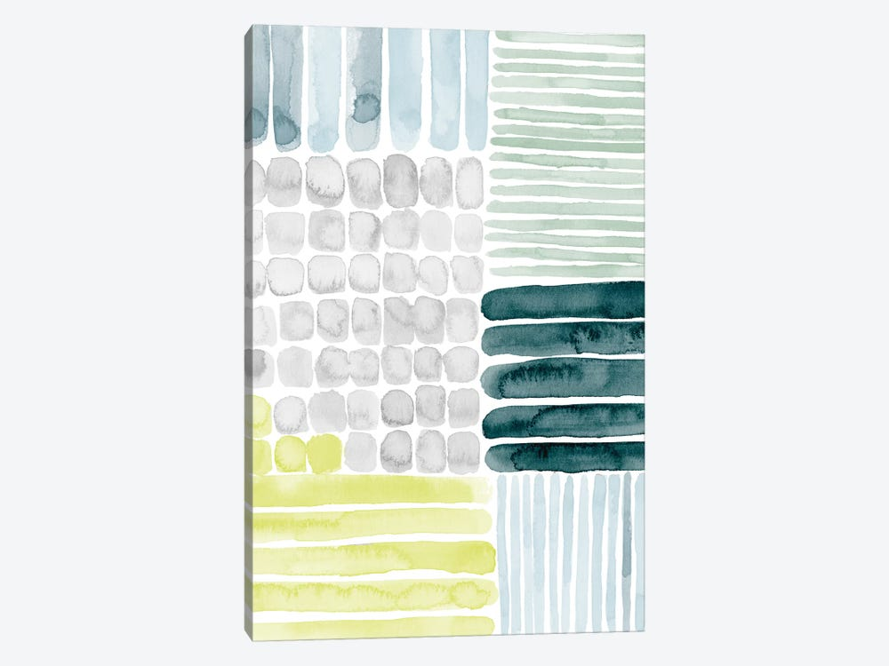 Aerial Abstract II by Grace Popp 1-piece Canvas Artwork