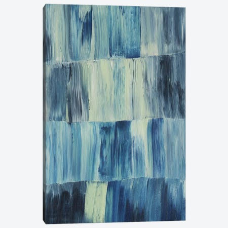 Aurora Blues I Canvas Print #POP733} by Grace Popp Canvas Artwork