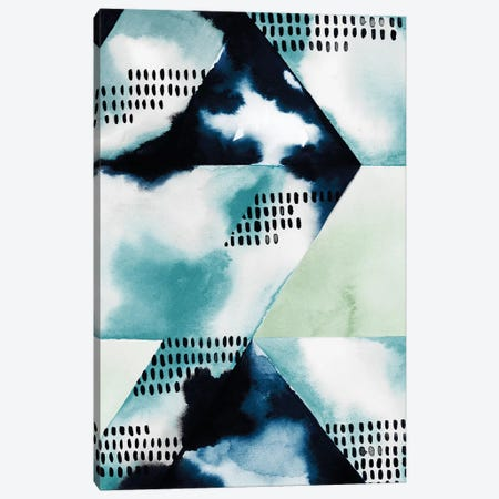 Blue Billow I Canvas Print #POP735} by Grace Popp Canvas Print