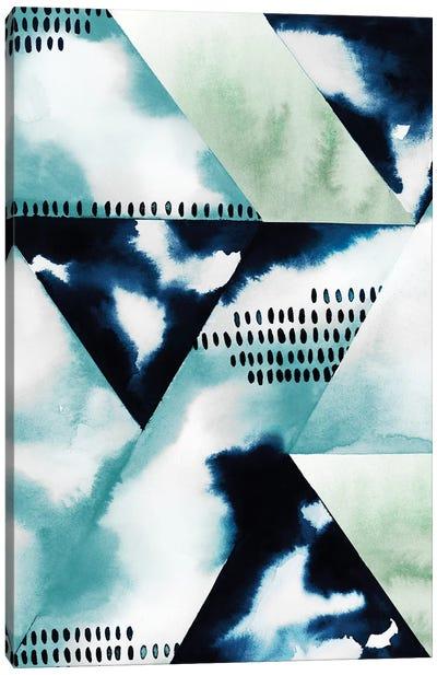 Blue Billow II Canvas Art Print