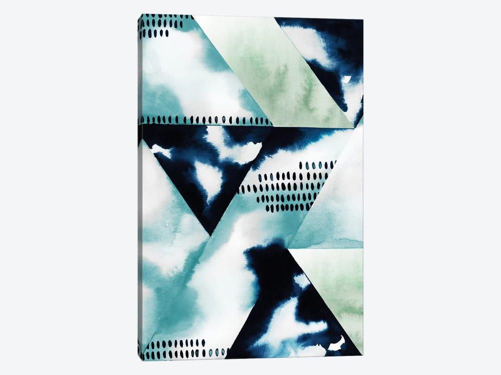 Blue Billow II by Grace Popp 1-piece Canvas Art