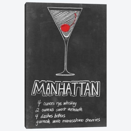 Chalkboard Cocktails Collection IV Canvas Print #POP739} by Grace Popp Canvas Art