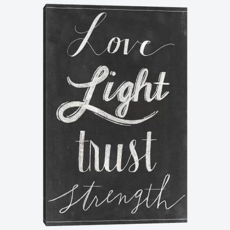 Chalkboard Faith VI Canvas Print #POP744} by Grace Popp Canvas Artwork