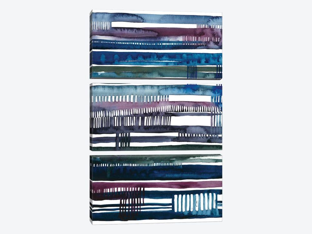 Collapse II by Grace Popp 3-piece Canvas Art Print