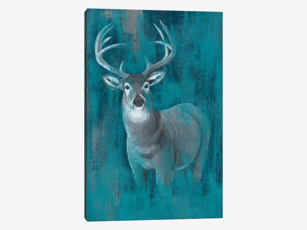 Contemporary White-Tail I by Grace Popp 1-piece Canvas Print