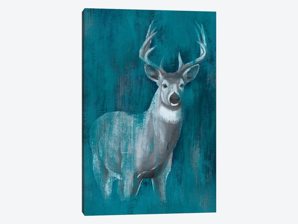 Contemporary White-Tail II by Grace Popp 1-piece Canvas Art